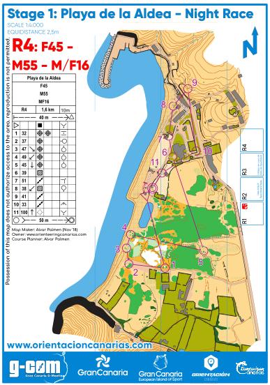 orienteering map - mapa de orientacion 4